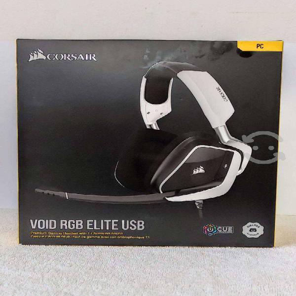 Audífonos gaming corsair void rgb elite