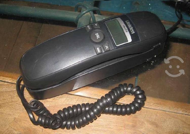 Telefono uniden con identificador de llamadas
