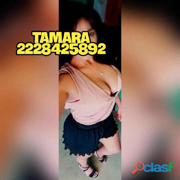 TAMARA, CON GANAS DE DARTE PLACER.