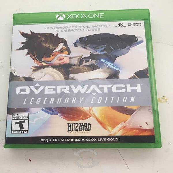 Overwatch legendary edition xbox one.