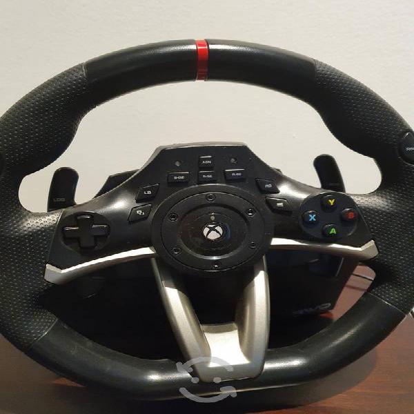 Xbox volante original con pedal de carreras