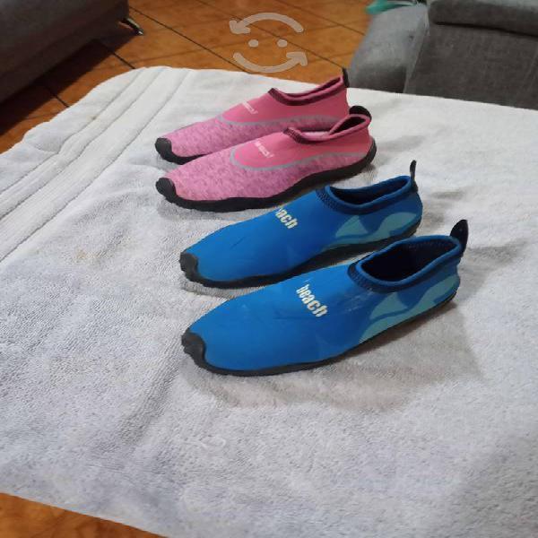 Zapatos acuáticos