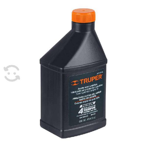 Aceite semi-sintético, motor 4 tiempos, 470ml (16o