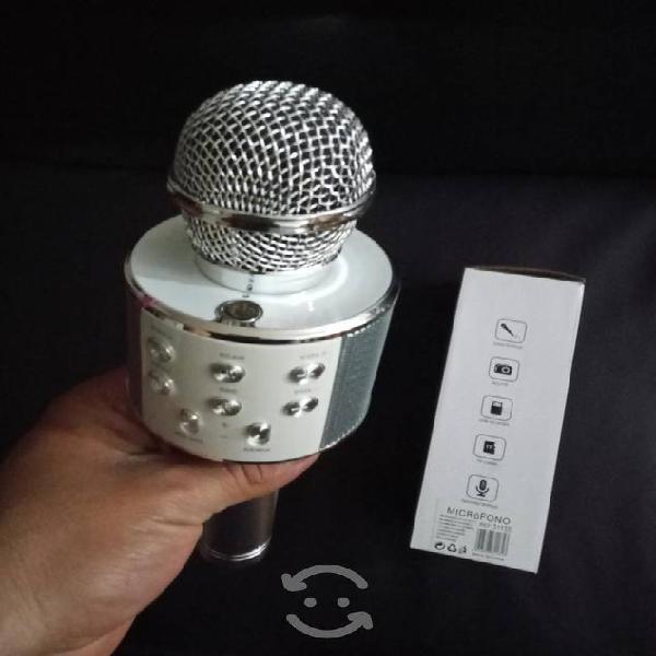 Karaoke micrófono bocina