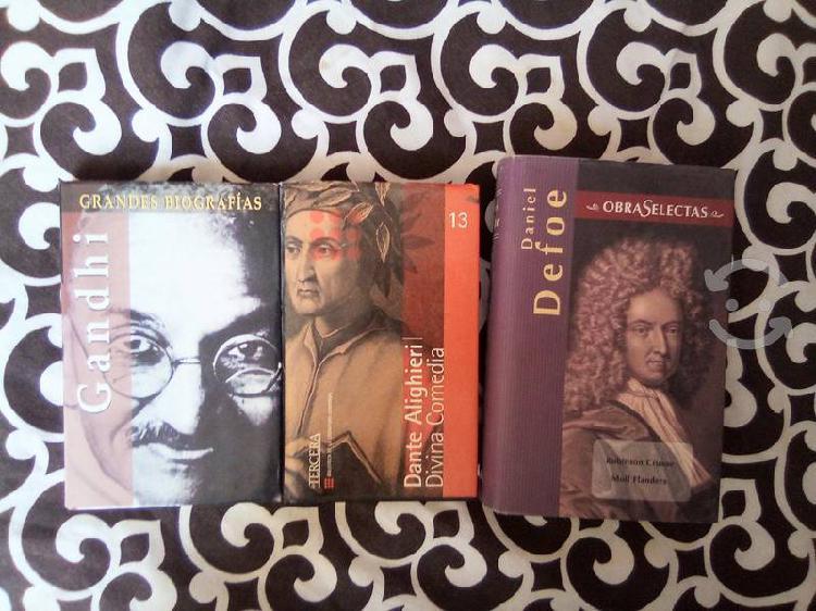 Lote de obras selectas en literatura