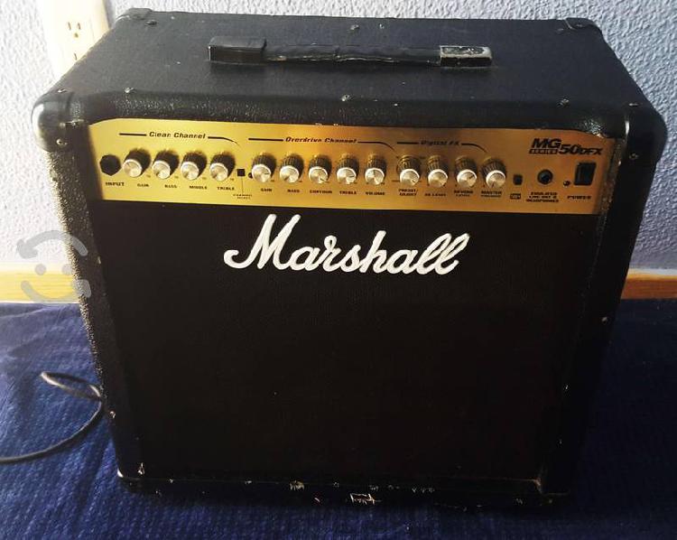 Amplificador guitarra marshall 50w