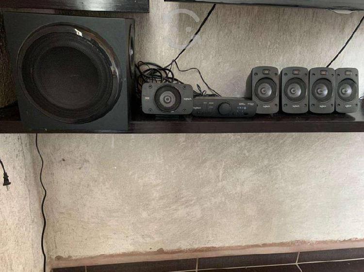 Teatro en casa logitech audio 5.1