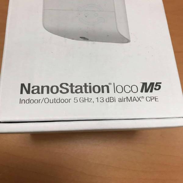 Ubiquiti nanostation loco m5 5ghz. 13 dbi mimo