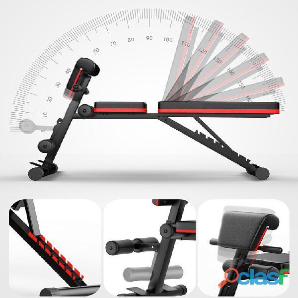 Banco Gym Multiposiciones Plegable Biceps Y Bandas