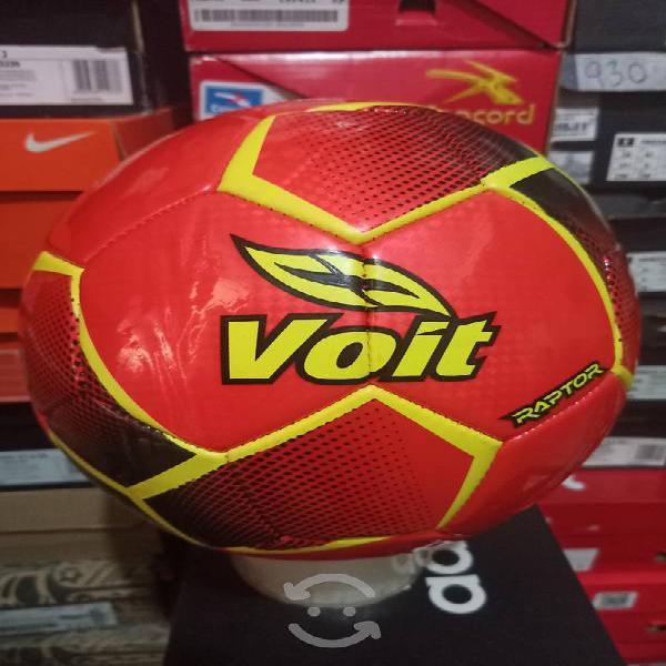 Balón de fútbol voit no.4 naranja nuevo original