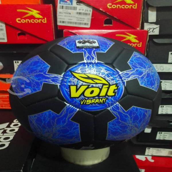 Balón de fútbol voit no.5 negro nuevo original
