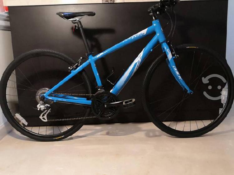 Bicicleta cannondale edición quick6 híbrida tallas