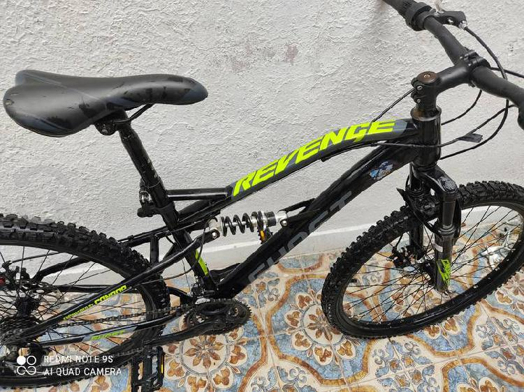 Bicicleta ghost revenge frenos disco doble suspens