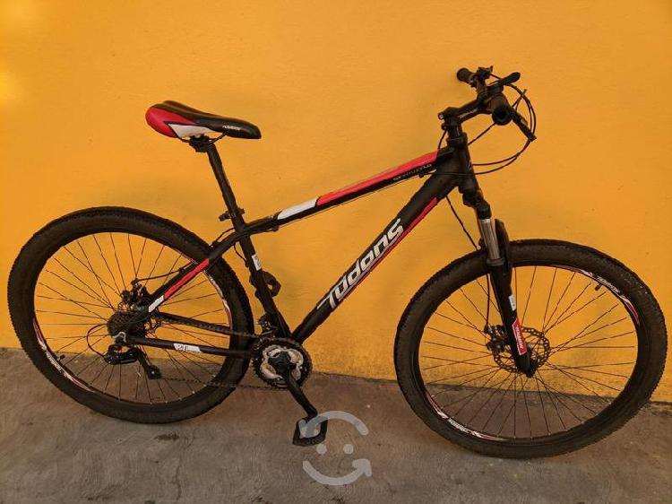 Bicicleta r29 tudons. frenos disco 21 velocidades