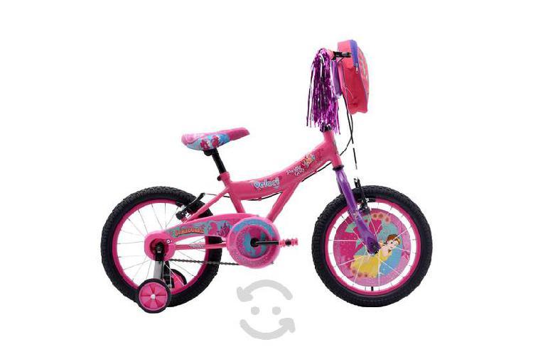 Bicicleta veloci soñadoras rodada 16 rosa