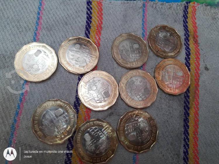 Monedas conmemorativas puerto de veracruz