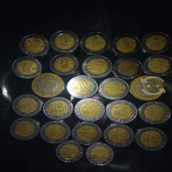 Nuevos pesos y monedas de la revolución