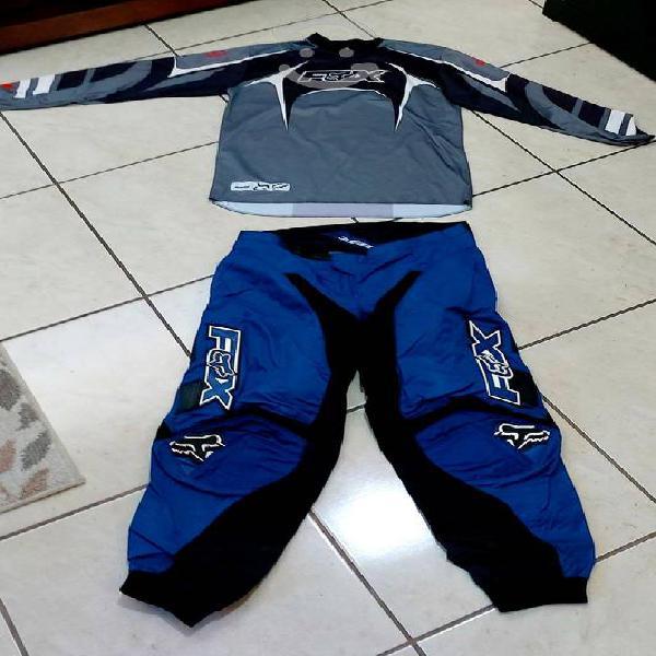 Pantalones y jerseys thor, fox & troy lee design