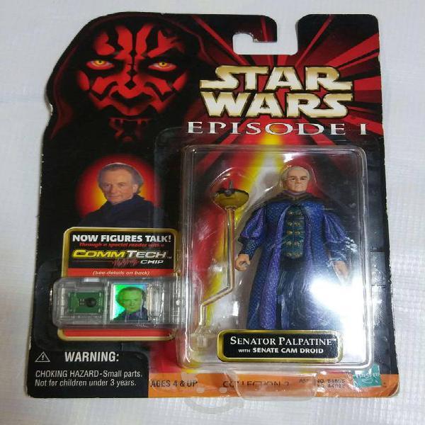 Star wars figura de colección senator palpatine