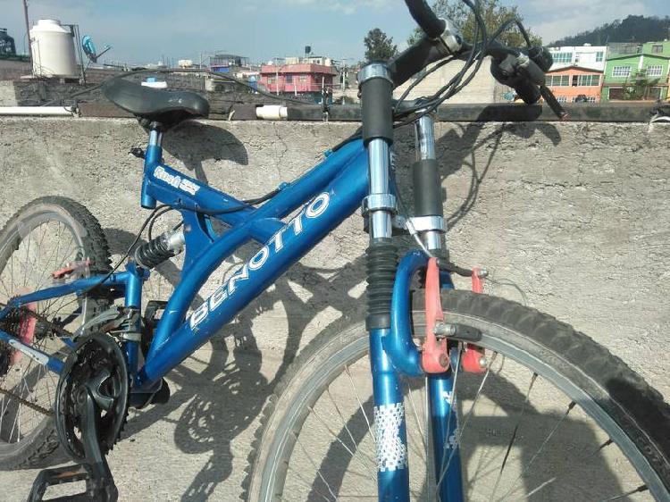 Bicicleta benotto doble suspensión