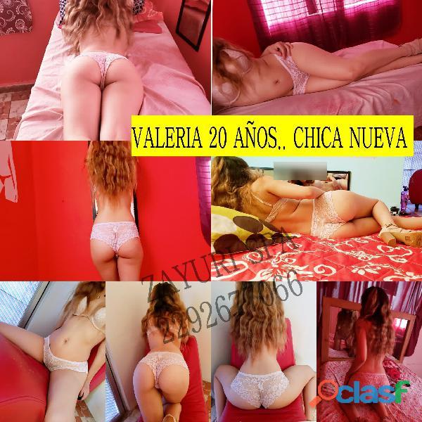 Valeria chica nueva!! 20 años.. Belleza y Sensualidad...