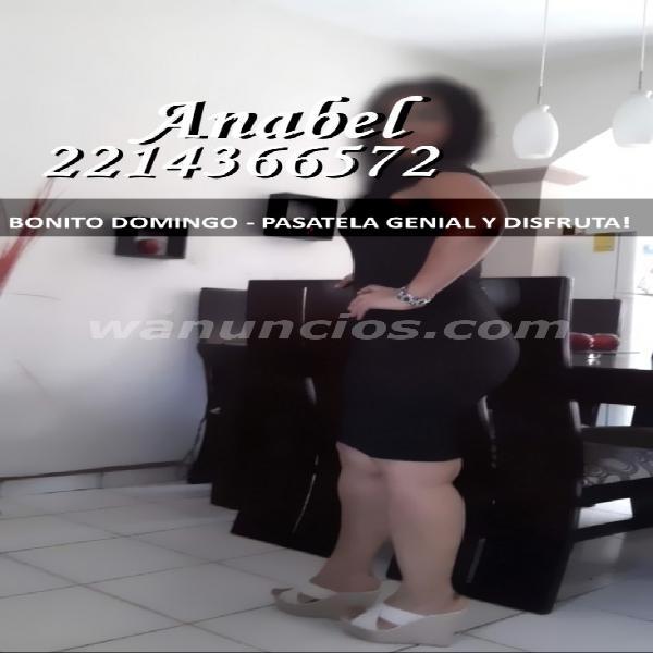 ANABEL, LLEGO CON MINIFALDA,MEDIAS Y TACONES. (PUEBLA)