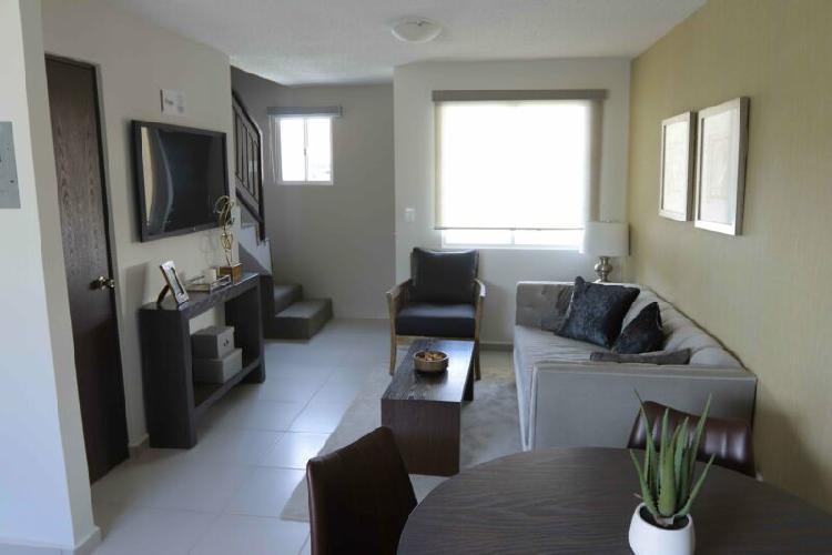 Casa nueva de 2 recámaras en residencial viñas del mar,