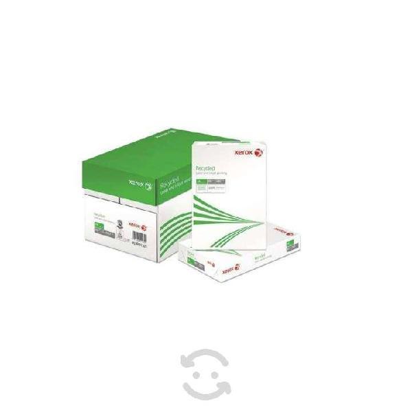 Papel ecológico carta 003m02010 xerox papel bond u