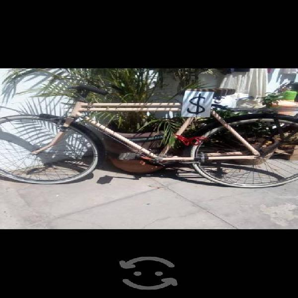 Bicicleta antigua de panadero r 28