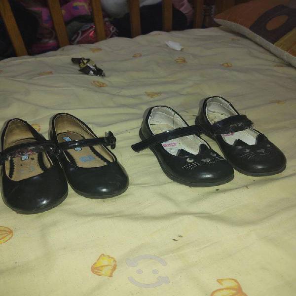 Zapatos de niña talla 4/5 marca coqueta y casual