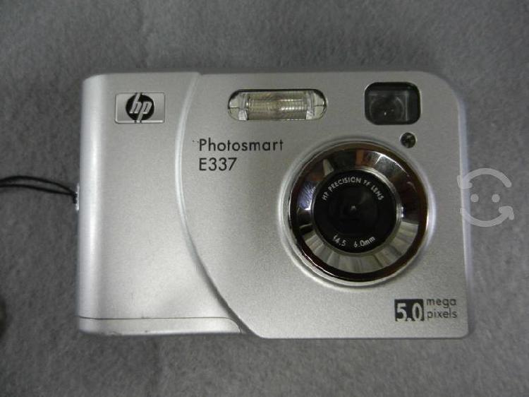 Camara hp photosmart e337 5 mp