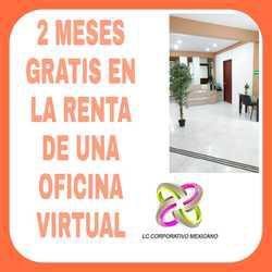 Obten en renta oficina virtual con excelentes servicios