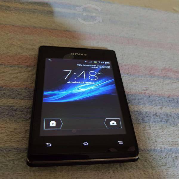 Sony xperia color negro