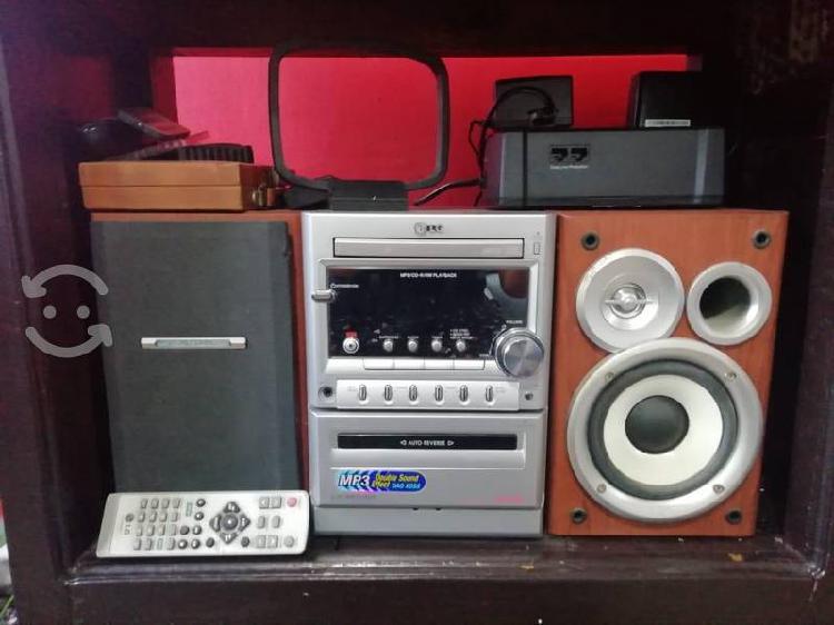 Mini componente lg stereo