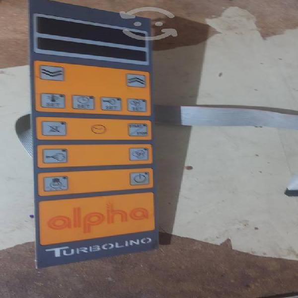 Panel y motor usados. horno turbolino