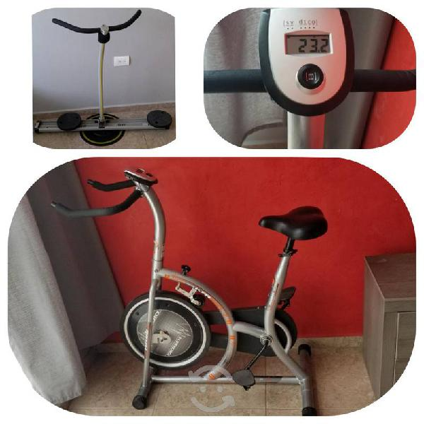 2x1 / Bicicketa Kardio Turbo + Circle glide
