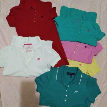 6 blusas polo Aeropostale original