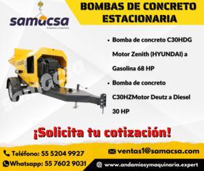 Bomba de concreto Cipsa