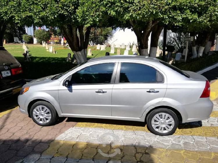 Chevrolet Aveo 2015 Elegance Equipado 4pts Único