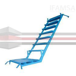 Escalera de gran firmeza para andamio