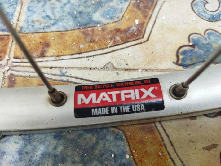 Excelente Rin Matrix USA Maza Depre LX Estrellas