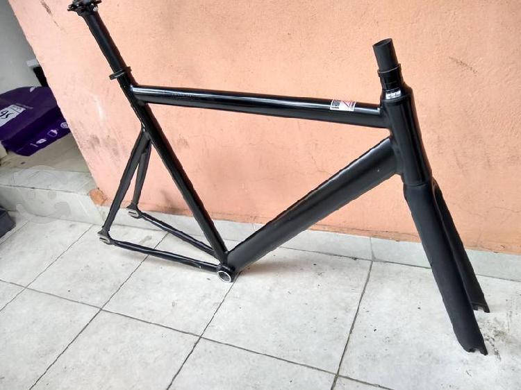 Frameset fixie state bicycle