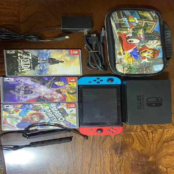 Nintendo Switch Equipado