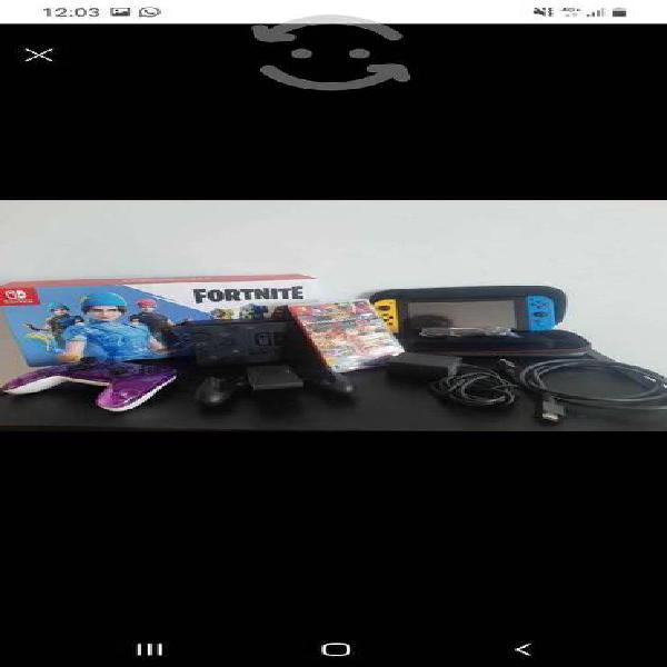 Nintendo Switch edición Fornite