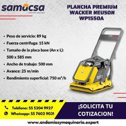Plancha Premium Wacker Neuson WP 1550A