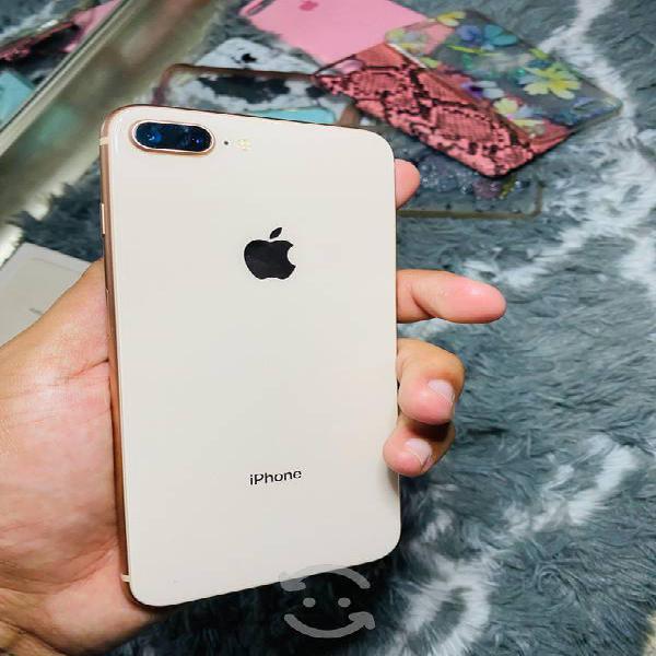 iPhone 8 Plus 256 gb libre de fábrica