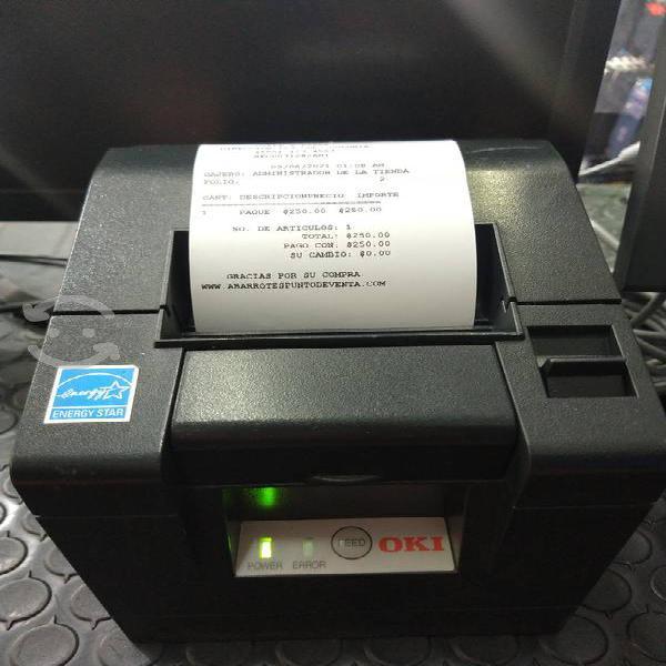 impresora térmica OKI pt341
