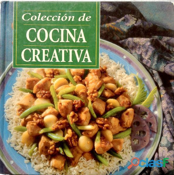 Libro Colección de Cocina Creativa de Louis Weber