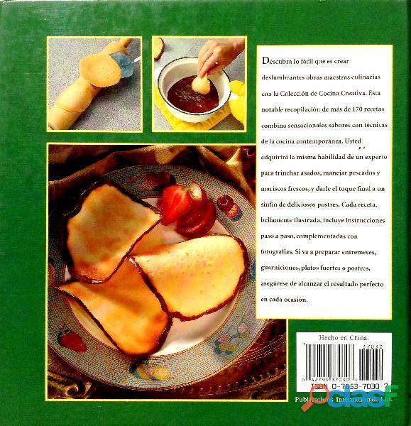 Libro Colección de Cocina Creativa de Louis Weber 1