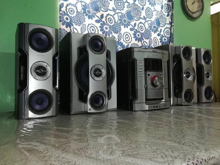 Potente estéreo sony genezi para uso con auxiliar